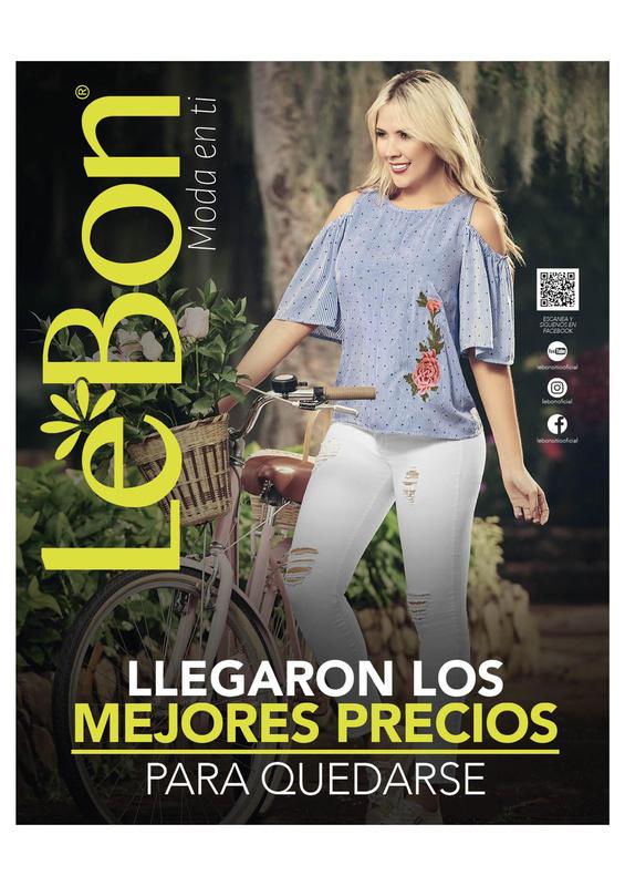 6d31e12468 Catálogo LeBon - Campaña 3 de 2018