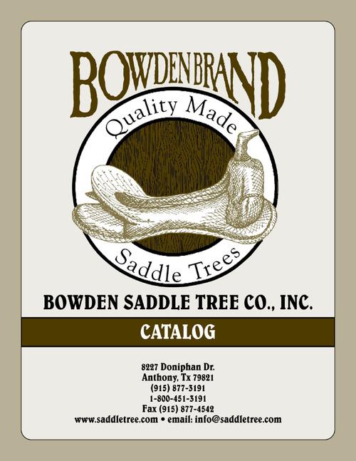 Bowden Saddle Tree Catalog